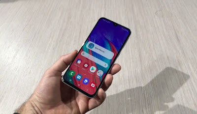 Cara Screenshot Samsung Galaxy A40