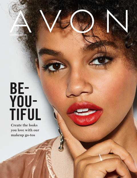 Avon brochure campaign 1 - Be-You-Tiful