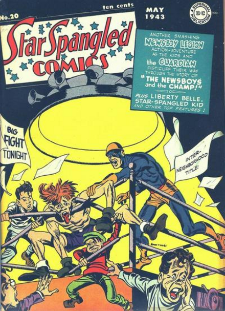 Jack Kirby Star Spangled Comics