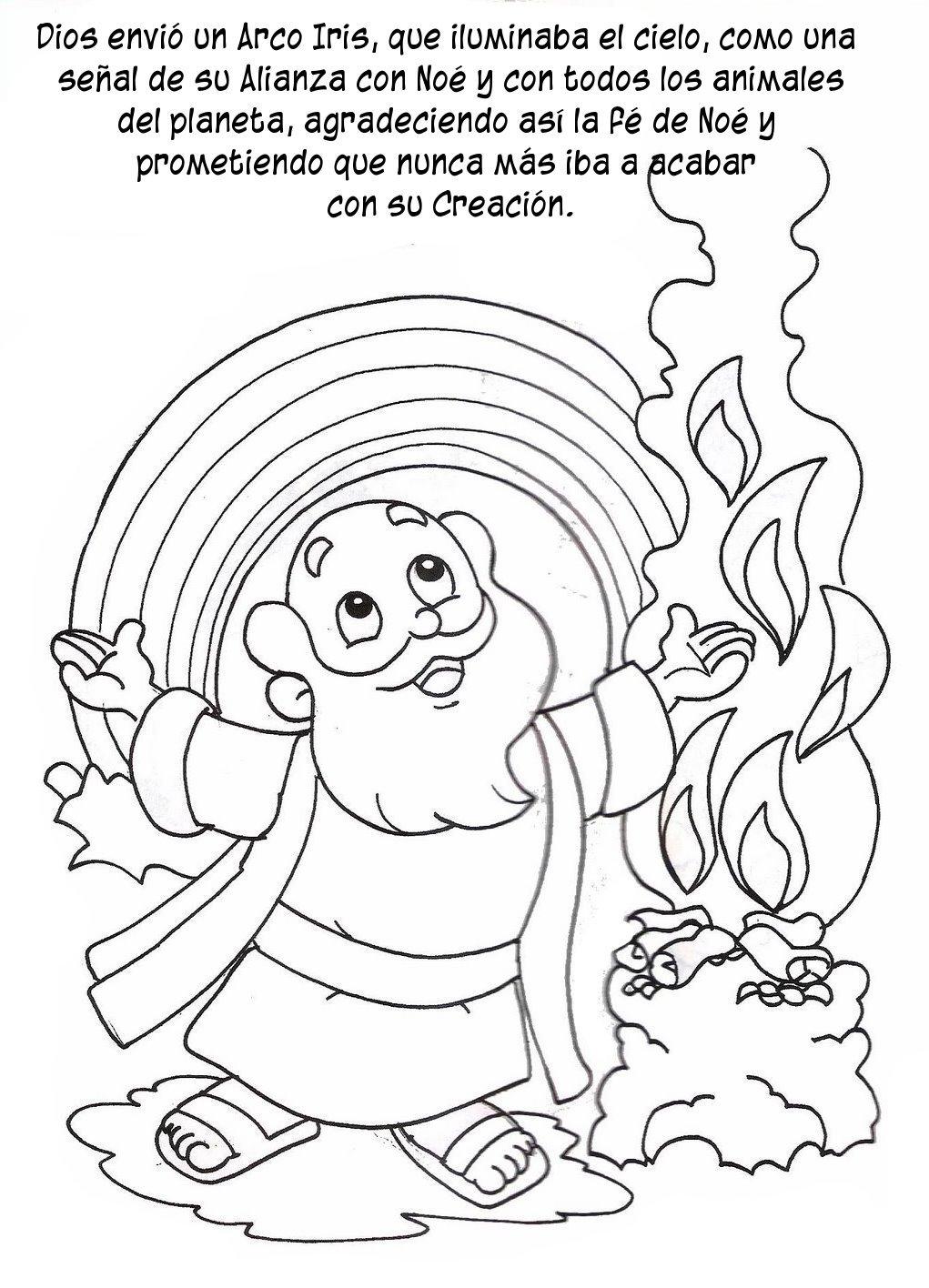 Historia Arca No en dibujos  Compartiendo por amor