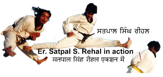 Master Er. Satpal Singh Rehal in Tkd action doing Taekwondo Split High Jump & Flying Kick, Garhshankar, Hoshiarpur, Mohali, Chandigarh, Punjab, India, Patiala, Jalandhar, Moga, Ludhiana, FSpliterozepur, Sangrur, Fazilka, Mansa, Nawanshahr, Ropar, Amritsar, Gurdaspur, Tarn taran, Martial Arts Tkd Training Club, Classes, Academy, Association, Federation