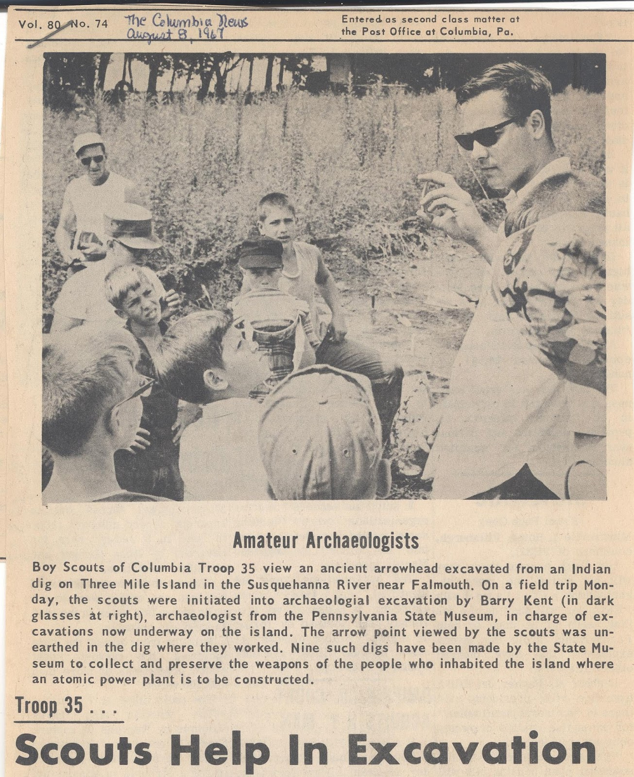 Phmc Pennsylvania Archaeology: This Week In Pennsylvania Archaeology: The Archaeology Of