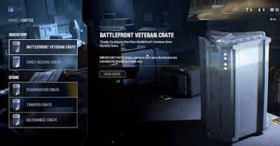 Star Wars Battlefront, SWBF 2, Fix Crash, Hangs, Launch Errors, Crates Menu Screen