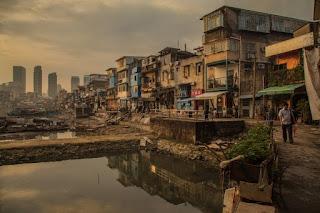 Slum areas in Xiamen