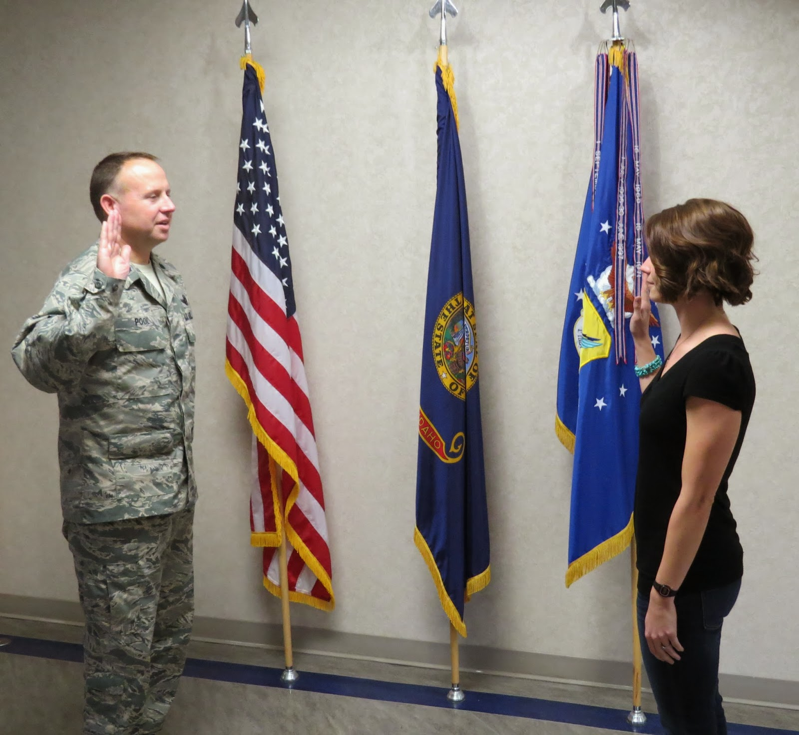 Idaho Air National Guard, 124 Fighter Wing, Air National Guard Enlistment