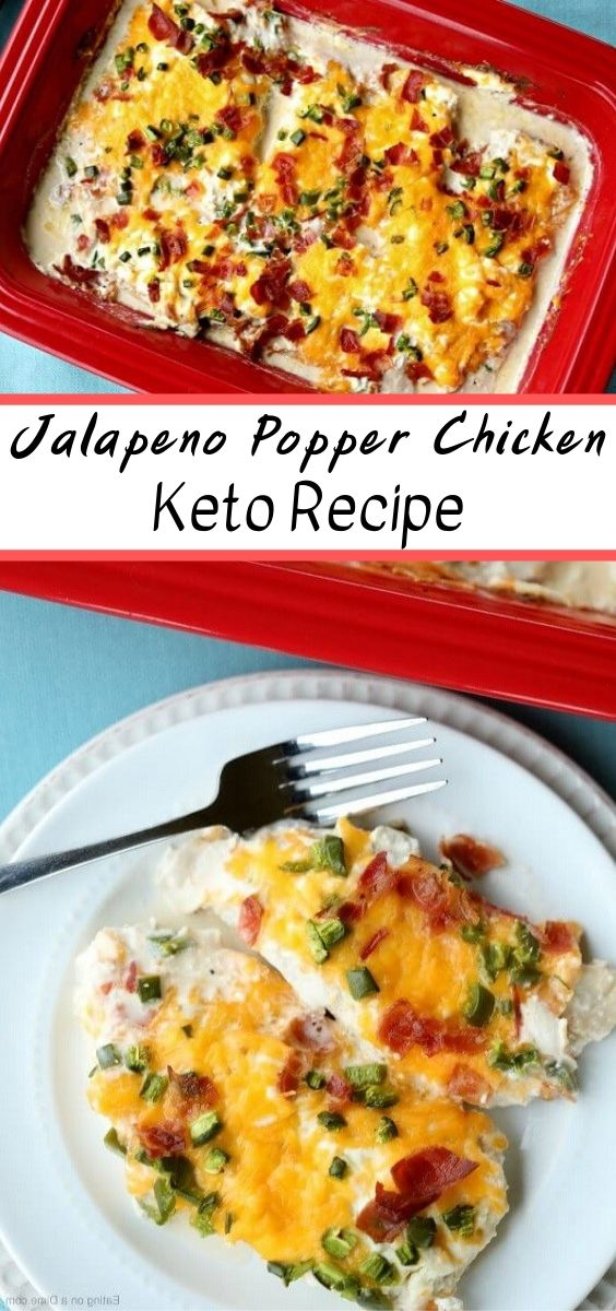 Keto Jalapeno Popper Chicken | Keto recipes, keto chicken recipes, keto recipes chicken, keto recipes easy, keto recipes dinner, keto recipes desserts, keto recipes ground beef, keto recipes breakfast, keto recipes with cream cheese, keto recipes lunch, keto recipes with coconut flour, keto recipes for beginners, keto recipes instant pot, keto recipes with almond flour, keto recipes vegan, keto recipes vegetarian, keto recipes chicken thighs. #Keto #Chicken #Ketorecipes #Dinner #Diet #Healthy