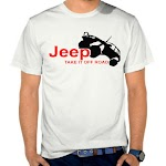 Kaos Distro Keren Jeep SK80 Asli Cotton
