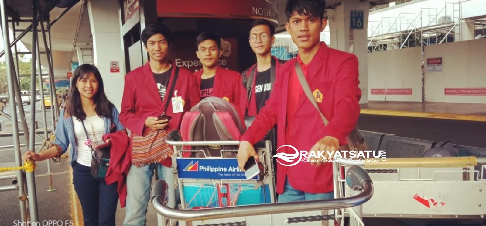 Tiba di Filipina, 5 Mahasiswa UKI Toraja Dapatkan Fasilitas Lengkap dari Pihak Kampus
