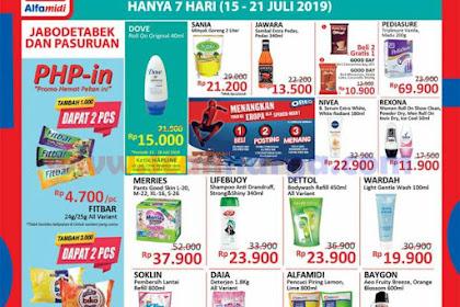 Katalog HAP Promo Alfamidi Satu Pekan 22 - 28 Juli 2019