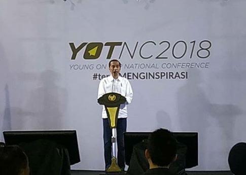 jokowi di acara yotnc2018