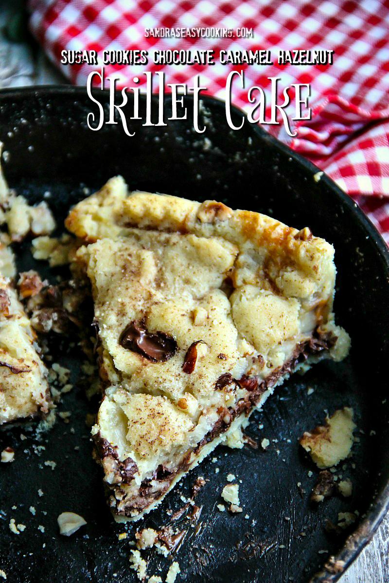 #ItsBakingSeason Sugar Cookies, Chocolate-Caramel-Hazelnut Skillet Cake @pillsbury