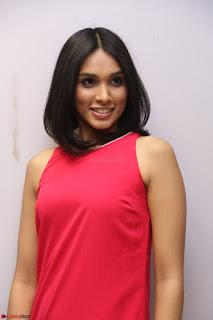 Spatika Surapaneni in Red Tight Dress at FBB Miss India 2017 finalists at Telangana auditions Feb 2017 (31).JPG