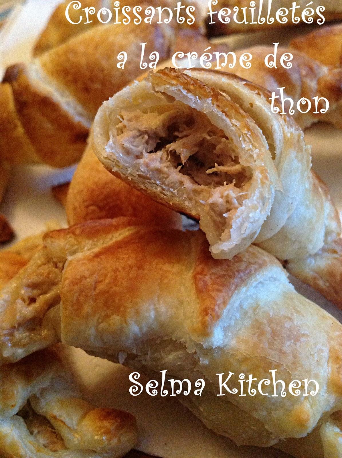 selma kitchen recette facile de croissants feuillet s a la creme de thon. Black Bedroom Furniture Sets. Home Design Ideas