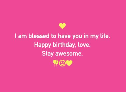 Happy Birthday Partner