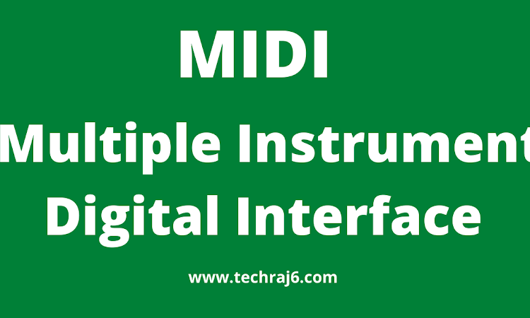 MIDI full form, what is the full form of MIDI