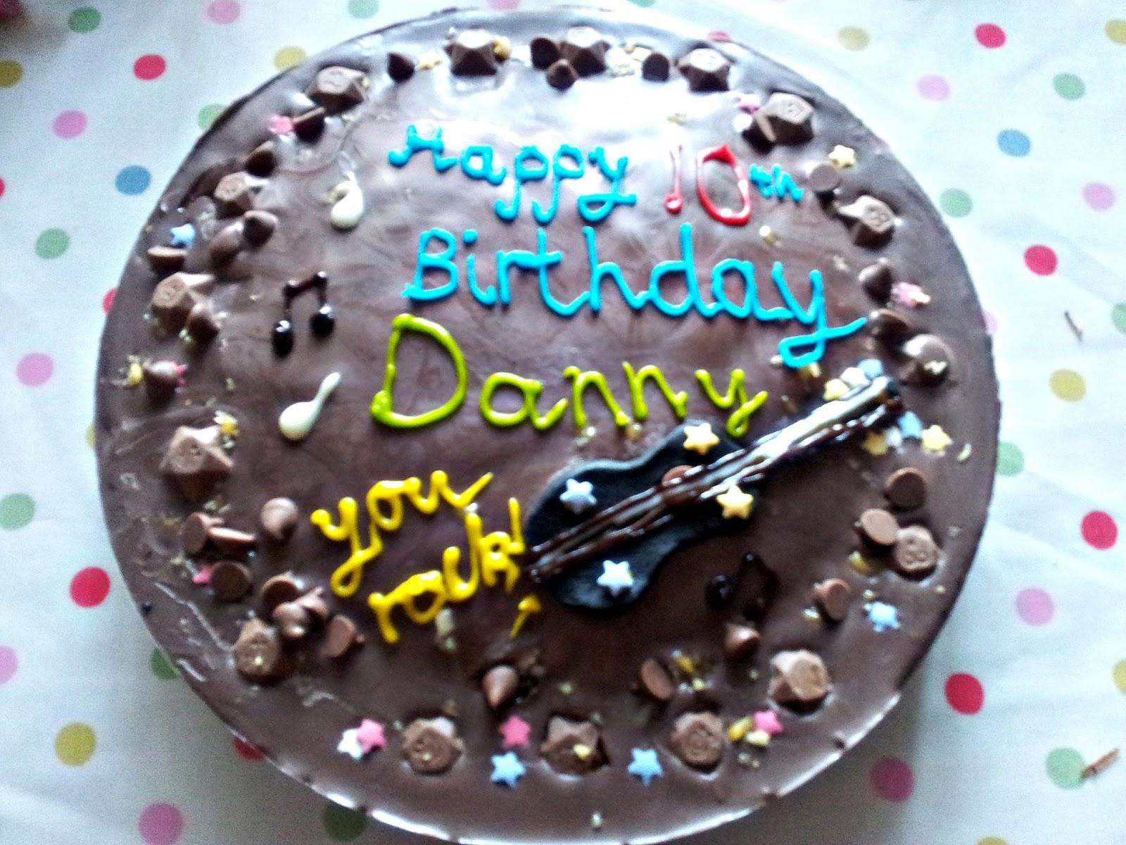 Danny S Birthday Cake Creative Baking With Kids Cbias
