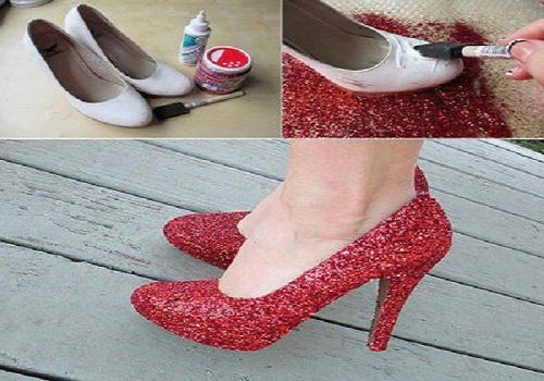 طريقة مبتكرة لتجديد حذائك القديم بطريقة جديدة وبشكل مميز