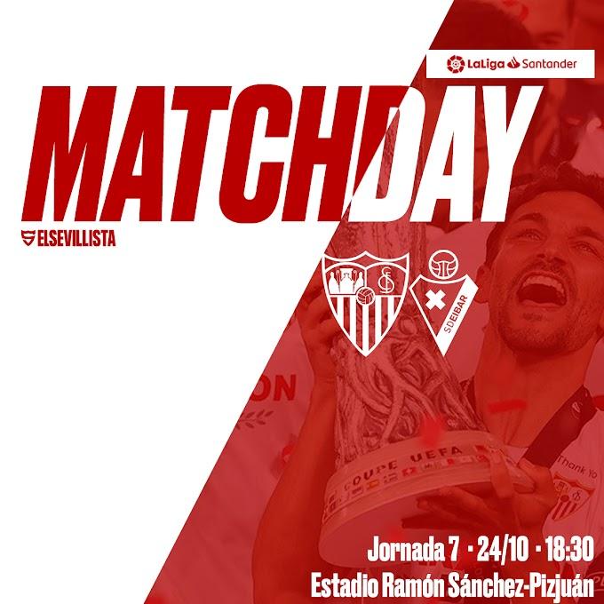 "PREVIA | Sevilla FC - SD Eibar: ""A por la mejor versión"""