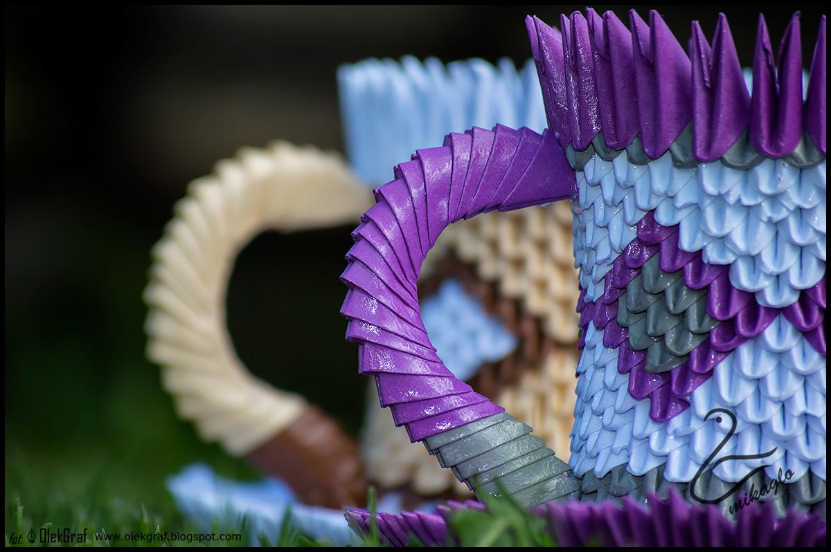 Origami 3d - mikaglo: 251. Filiżanki, filiżanki / 3d ... - photo#43