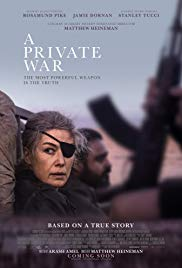 Watch A Private War Online Free 2018 Putlocker