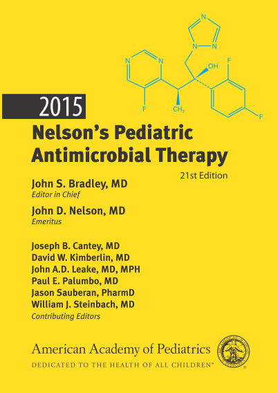 2015 Nelson's Pediatric Antimicrobial Therapy, 21st Edition (2015) [PDF]