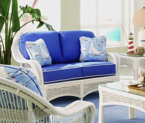 Sun Room Ideas with Wicker Furniture