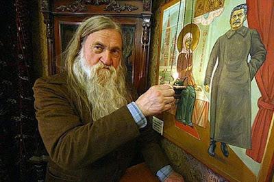 Игумен Евстафий: Сталин был верующим...