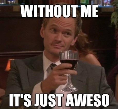 barney stinson high five meme - photo #31