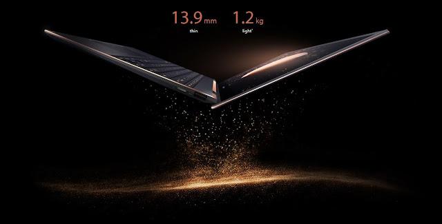 Desain Slim ASUS Zenbook Flip S UX371