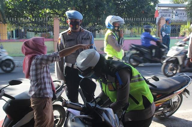 Operasi Patuh Gatarin Berlalu Lintas Terus Digalakkan Polda NTB