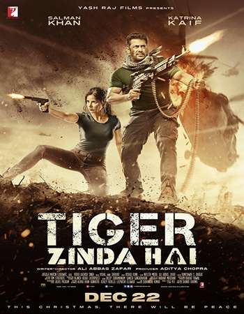 Tiger Zinda Hai 2017 Hindi 720p DVDRip ESubs
