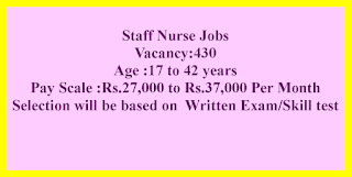 Staff Nurse Jobs in Surat Municipal Corporation Recruitment 2021