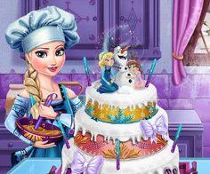 لعبة تزيين كعكة الزفاف
