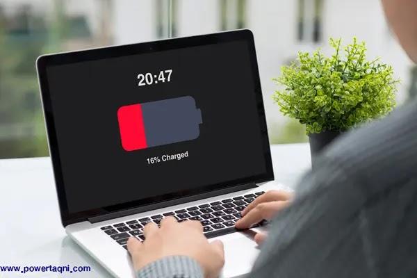 """نصائح لإطالة عمر بطارية الكمبيوتر المحمول""""laptop""""."""
