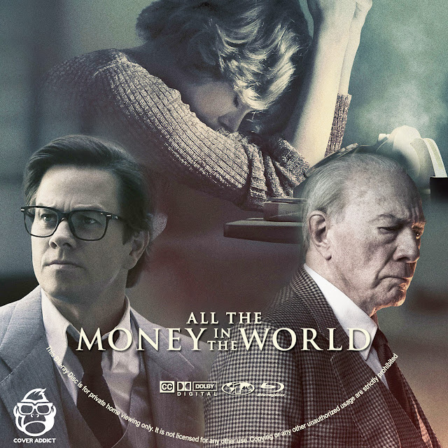 All The Money In The World Bluray Label