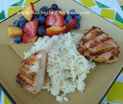 Grilled Taco Chicken | Recipe developed by www.BakingInATornado.com | #recipe #dinner