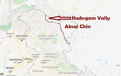 McMahon Line - Line of Actual Control (LAC) - भारत-चीन सीमा विवाद