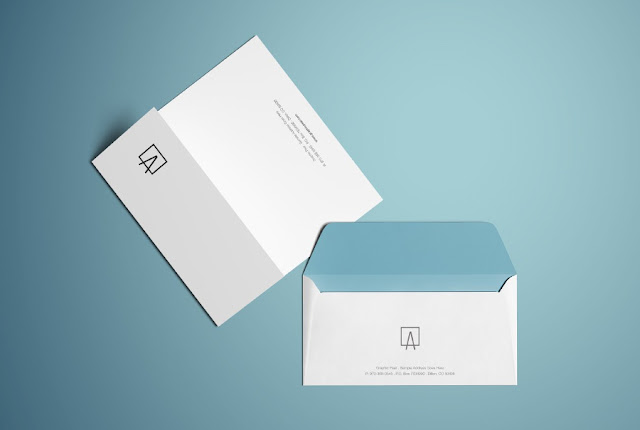 Letter Head  Envelopes Company Logo A4 Corporate Identity