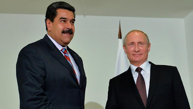 Maduro dialoga con Putin sobre la situación política en Venezuela