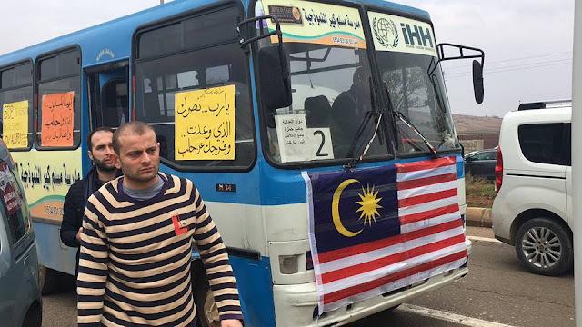 Mobil Malaysia Bergerak Bantu Aleppo, WNI: Kami Malu..