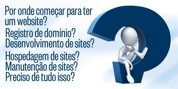 Precisa de uma empresa para a criação de um site? Informações ligue (11) 2823-6823
