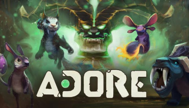 Adore is a fun action-packed roguelike whose hero is endowed with super-revealing abilities to call and control creatures from the parallel world.