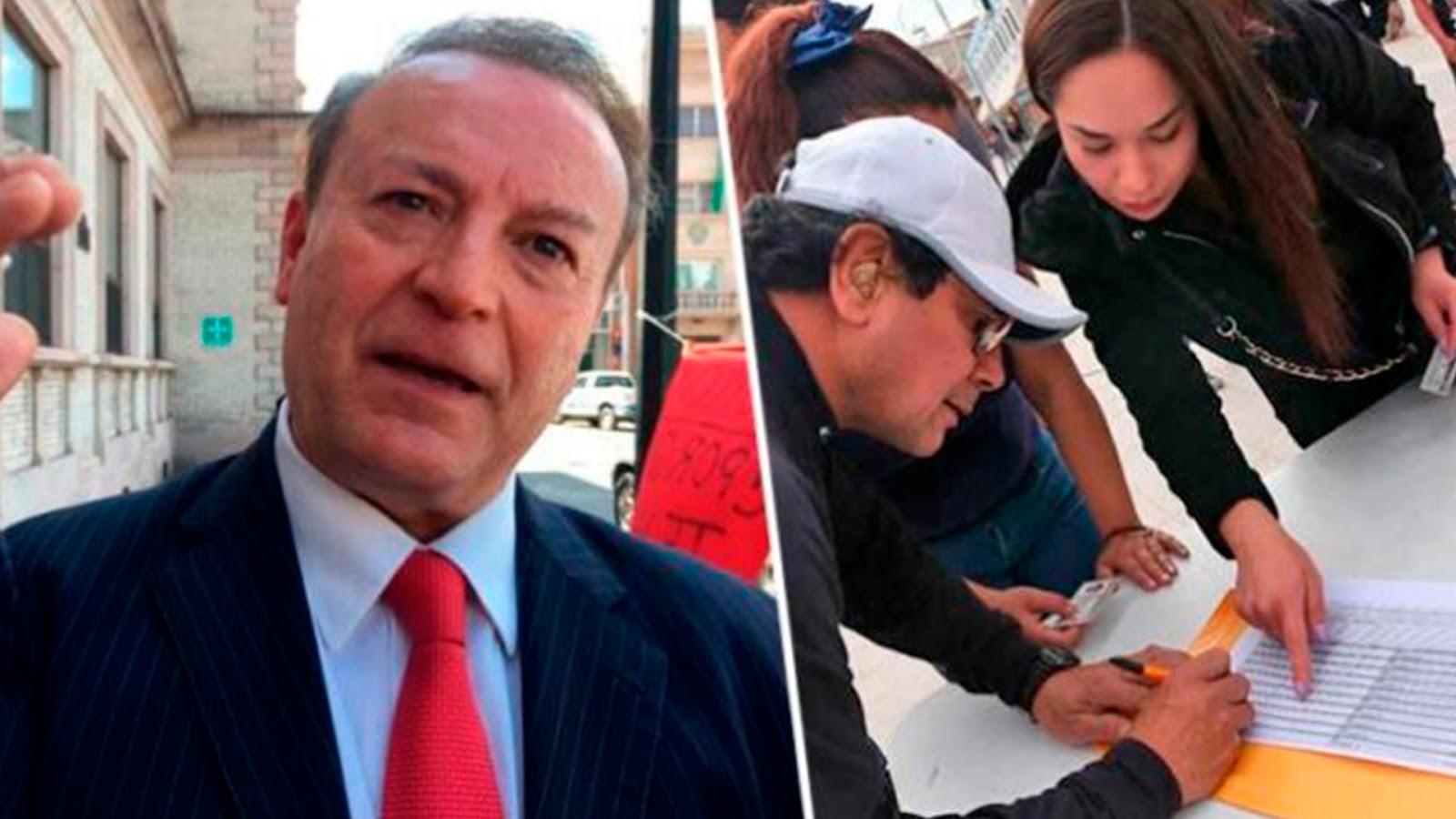 Mexicanos reúnen 20 mil firmas para enjuiciar a Gilberto Lozano por incitar a atentar contra AMLO