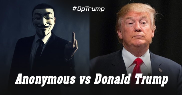 Anonymous Declares War On Donald Trump — #OpTrump