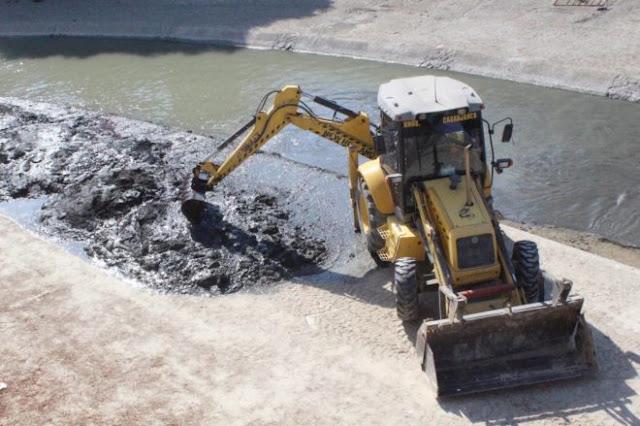 Retirada de lodos en Guadalajara