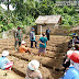 Penyerahan Bibit dan Pupuk Kelompok Tani Desa Betumoga  Didampingi Koramil 03/Pulau Sipora