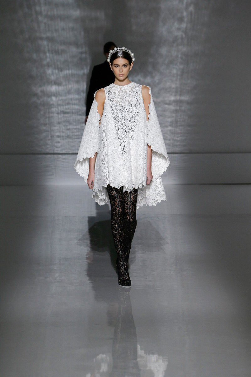 Kaia Gerber takes over the Givenchy Haute Couture runway by storm