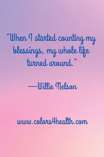 Willie Nelson Quote at Colors 4 Health
