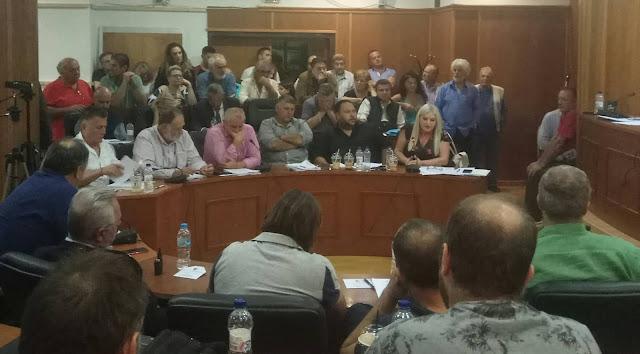 Αποτέλεσμα εικόνας για Στην αίθουσα συνεδριάσεων του Δημοτικού Συμβουλίου (Ιάσονος & Εθν. Αντιστάσεως, Λουτράκι) τη Δευτέρα 30η Δεκεμβρίου 2019, και ώρα 14:45 σε έκτακτη συνεδρίαση,