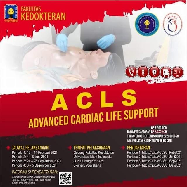 Pelatihan ACLS 2021 FK UII Yogyakarta & PERKI